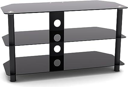 RICOO Meuble TV LED moderne de salon pour television ecran ...