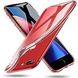 ESR Cover iPhone 8 Plus, Cover iPhone 7 Plus, Custodia Morbida in TPU, Anti-graffio, Ultra Leggere e Sottile per Apple iPhone 8 Plus/7 Plus, 5.5 pollici(Chiaro)