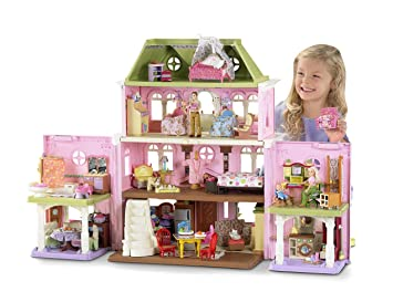 Marvelous Fisher Price Loving Family Grand Dollhouse(Discontinued By Manufacturer)