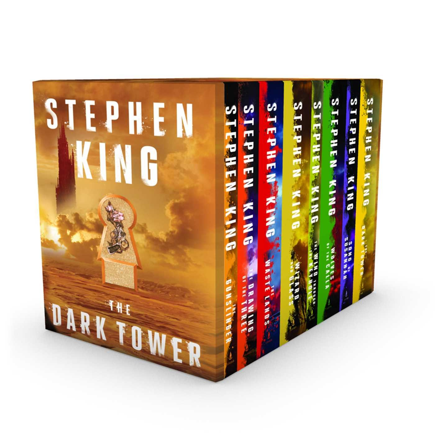 The Dark Tower 8-Book Boxed Set by Scribner