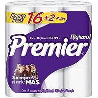 Premier Papel Higiénico 16+2 Rollos