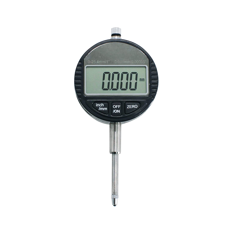"""Electronic Dial Indicator 0.001mm//0.00005/"""" Gauge 0-25.4mm//1/"""" Measuring Tool"""