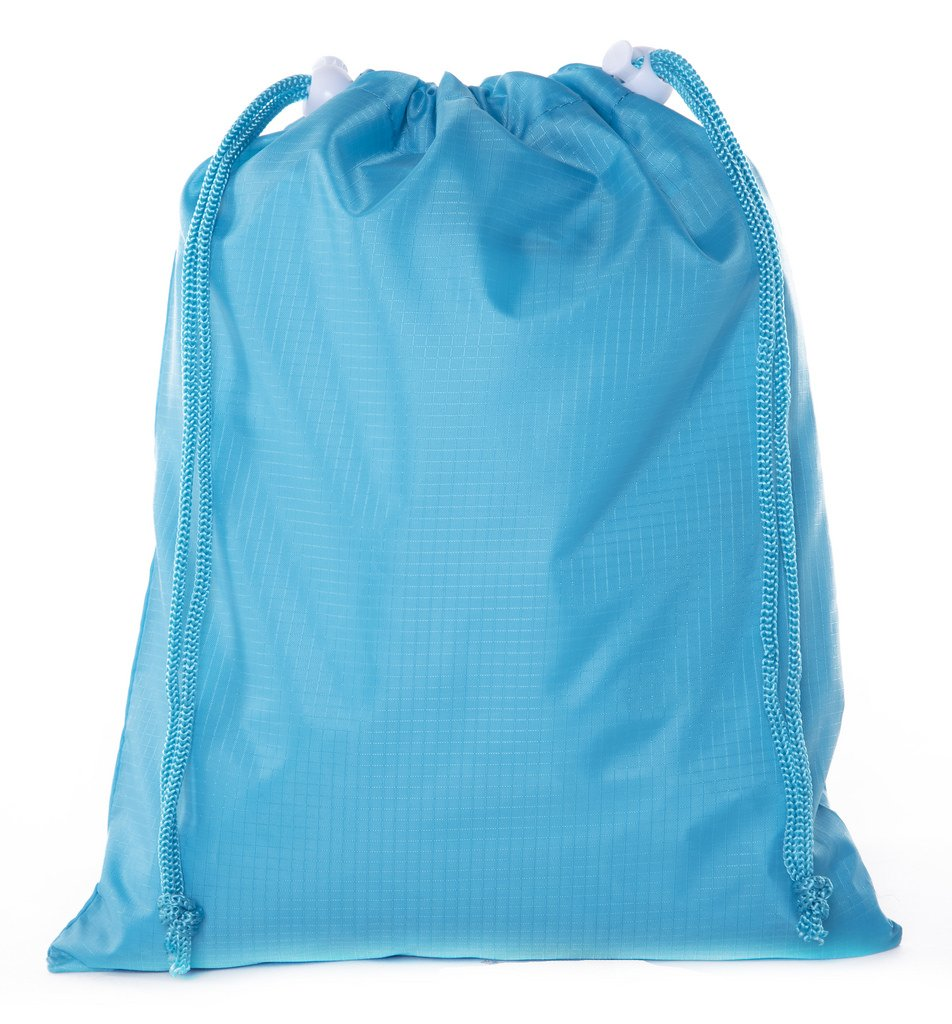Mini Drawstring Bags, Drawstring loot bags for Party Favor Goodie Bags, Baby Showers & More! - 100PK Acid Blue CA2655