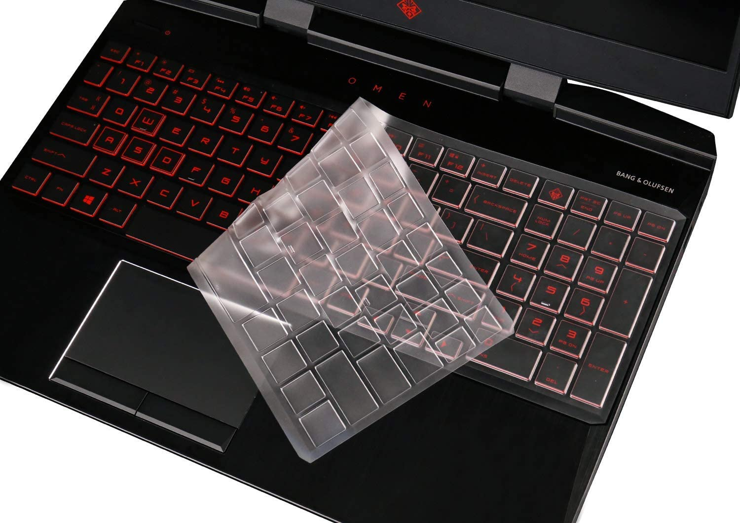 Ultra Thin Keyboard Cover for Newest HP OMEN 15-DC 15.6