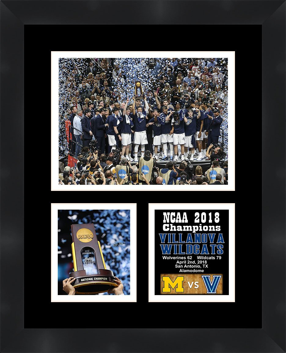 2d2bf653c25b Villanova NCAA 2018 Champions Framed 11 x 14 Matted Collage Framed Photos  Ready to hang Frames