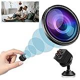 Mini Spy Camera Wireless Hidden, 2021 Full HD 1080P Portable Small Nanny Cameras Covert Cop Cam, Micro USB Security Surveilla