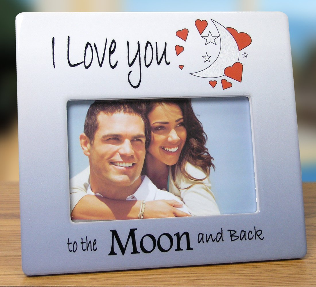 Amazon.com - I Love You Frame - To The Moon and Back Picture Frame ...