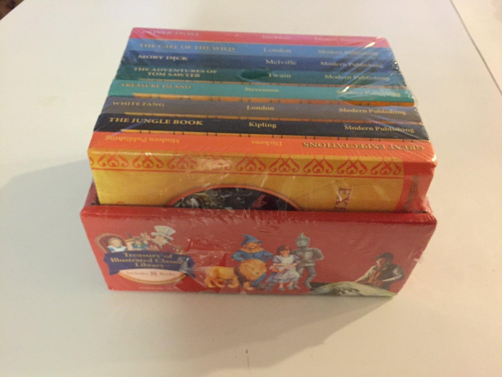 Illustrated Classics cartonnée Children/'s Story Book-Oliver Twist