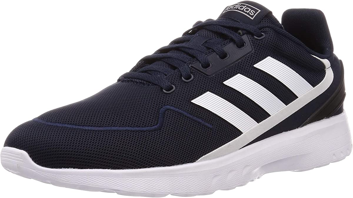 adidas Nebzed Sneakers Herren blau m. weißen Streifen