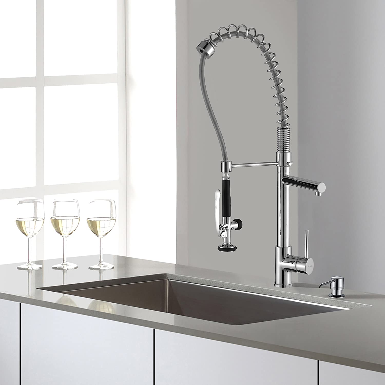 handle pull single extendn faucet down soap dst with faucets dispenser details leland sd tif kitchen