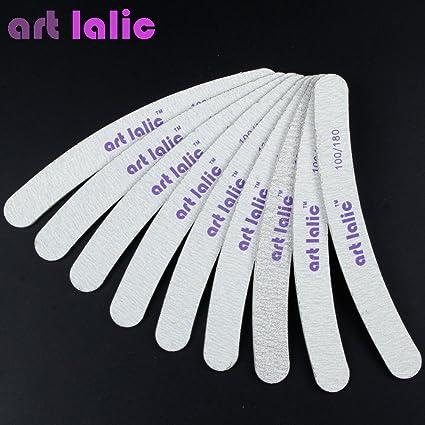 Buy FashladyTM 10 Pcs/Pack Artlalic Nail Files Double-Side