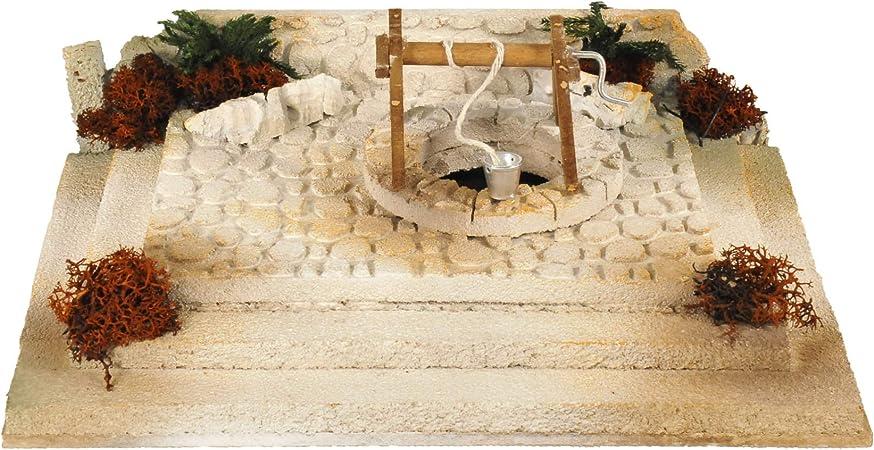 De Sisinno Piazza con pozzo per presepe Dim. H8x28x20 cm: Amazon
