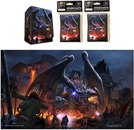 50 Max Protection DEATH GRIP Standard Sized Card Sleeves MTG Deck Protector ccg