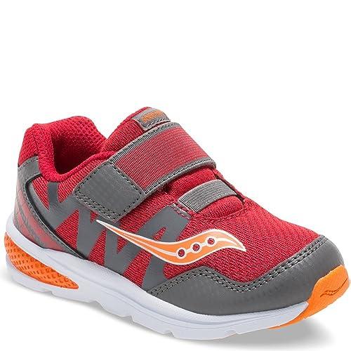 Zapatillas para correr Baby Ride Pro para ni?os, Rojo / Gris ...