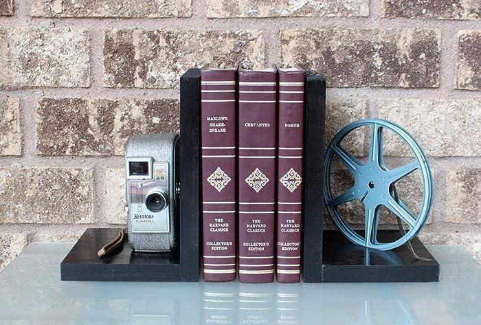 Amazon com: Vintage Camera Bookends - Keystone K25/K30 Capri