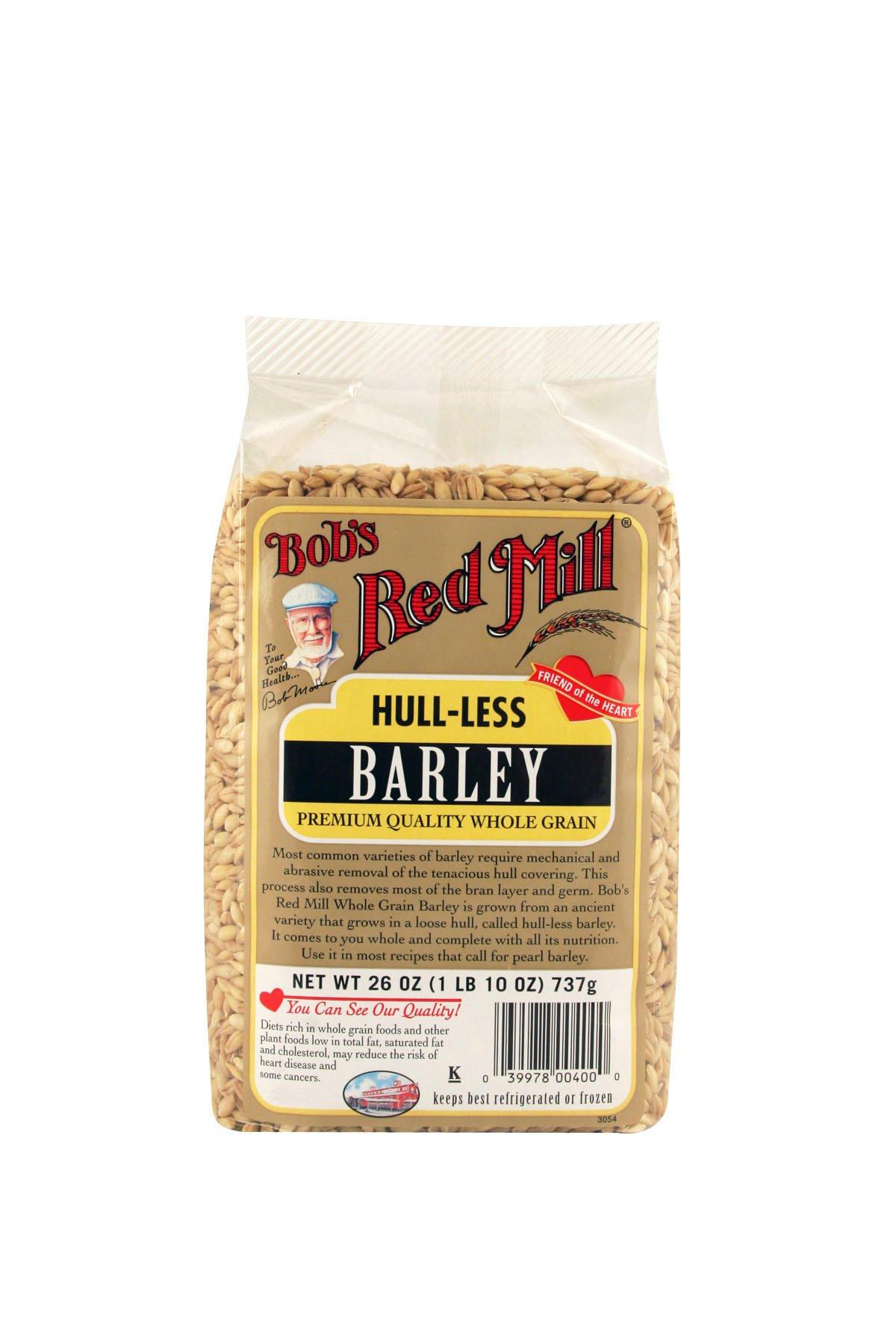 Bob's Red Mill Hull-Less Whole Barley, 26-ounce
