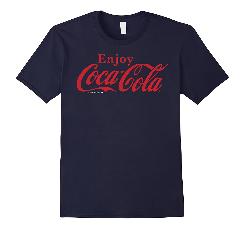 Coca-Cola Enjoy Logo Red Graphic T-Shirt-T-Shirt