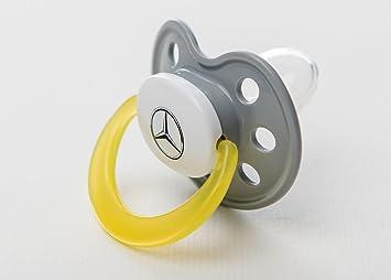 Chupete plata / amarillo / blanco, Plástico / Silicona: Amazon.es ...
