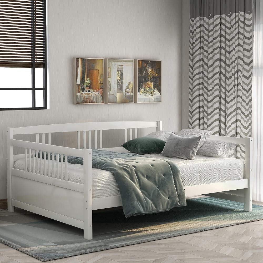 Harper & Bright Designs Solid Wood Daybed Frame