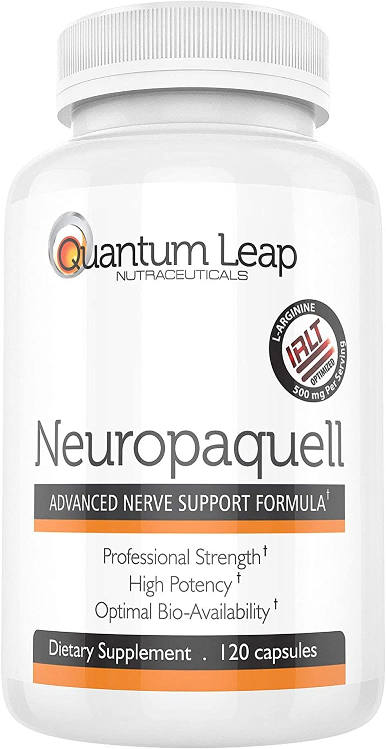 Clinical Strength Neuropathy Pain Relief. Advanced Nerve Support Formula. 120 capsules: Health & Personal Care