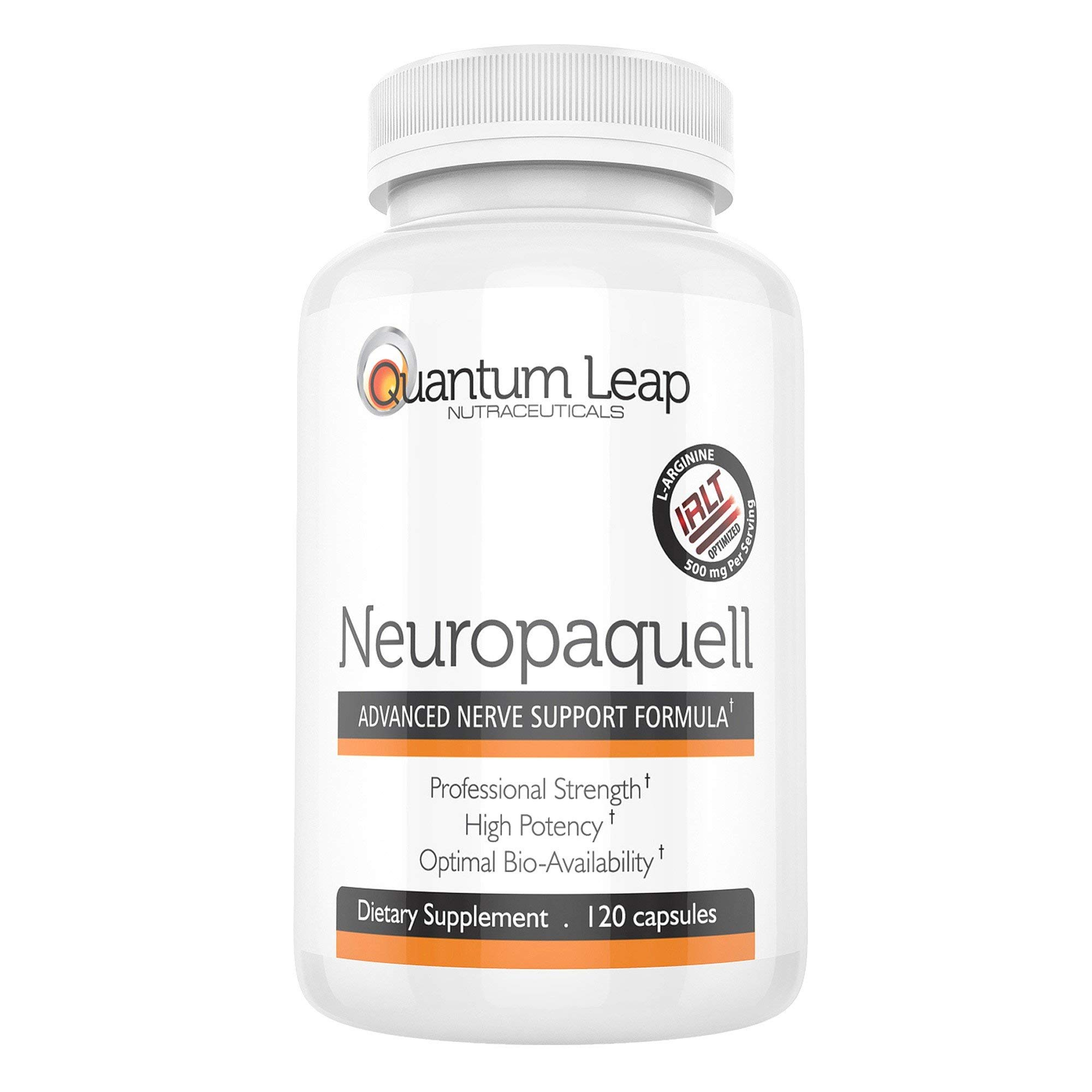 Clinical Strength Neuropathy Pain Relief. Advanced Nerve Support Formula. 120 capsules by Platinum Health