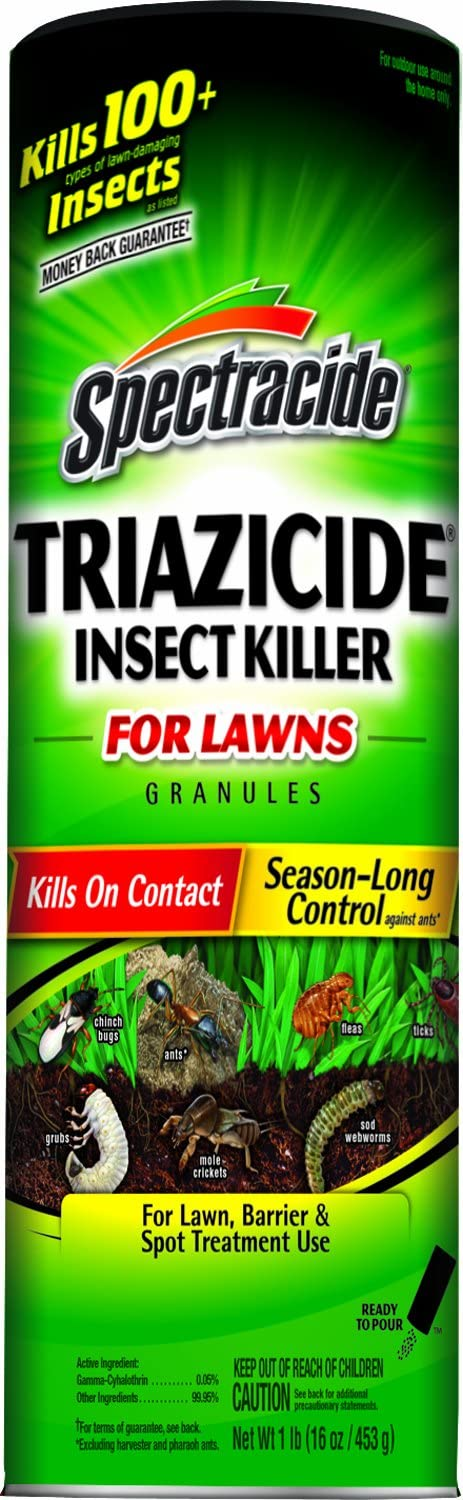 Spectracide Triazicide Insect Killer For Lawns Granules, 1-Pound