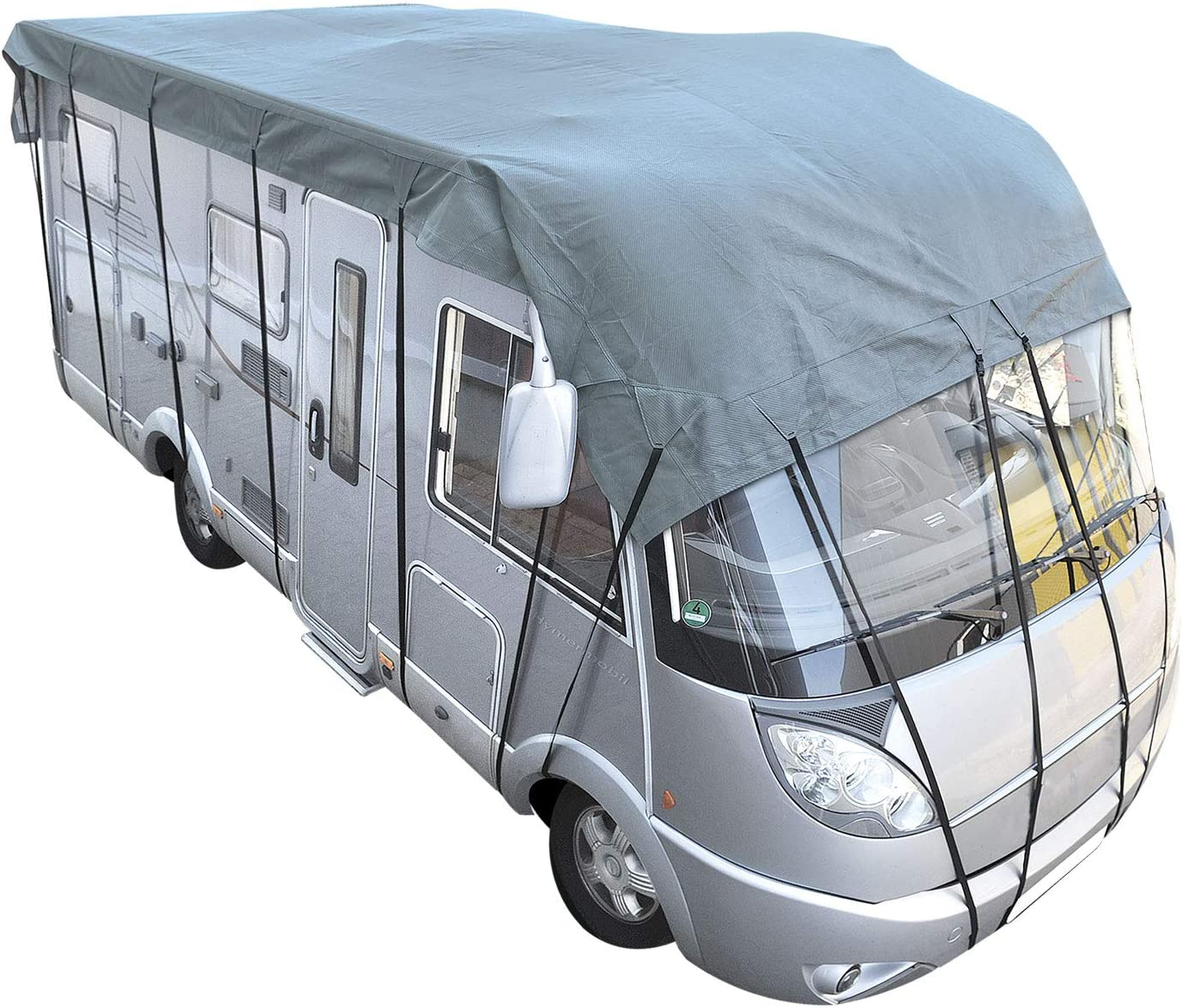 Cartrend 10248 Roof Protection Tarpaulin Roof Cover Caravan Cover Caravan Caravan Cover Campervan Roof Protection Campervan Cover Dimensions 5.0 x 3 m
