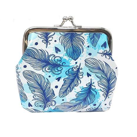 Luca-backpack - Monedero para Mujer, diseño de Plumas de ...