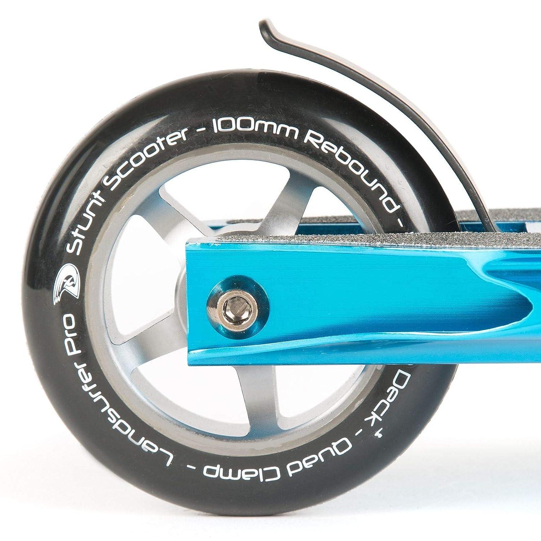 Amazon.com: Land-Surfer PRO Stunt Scooter - Blue: Sports ...