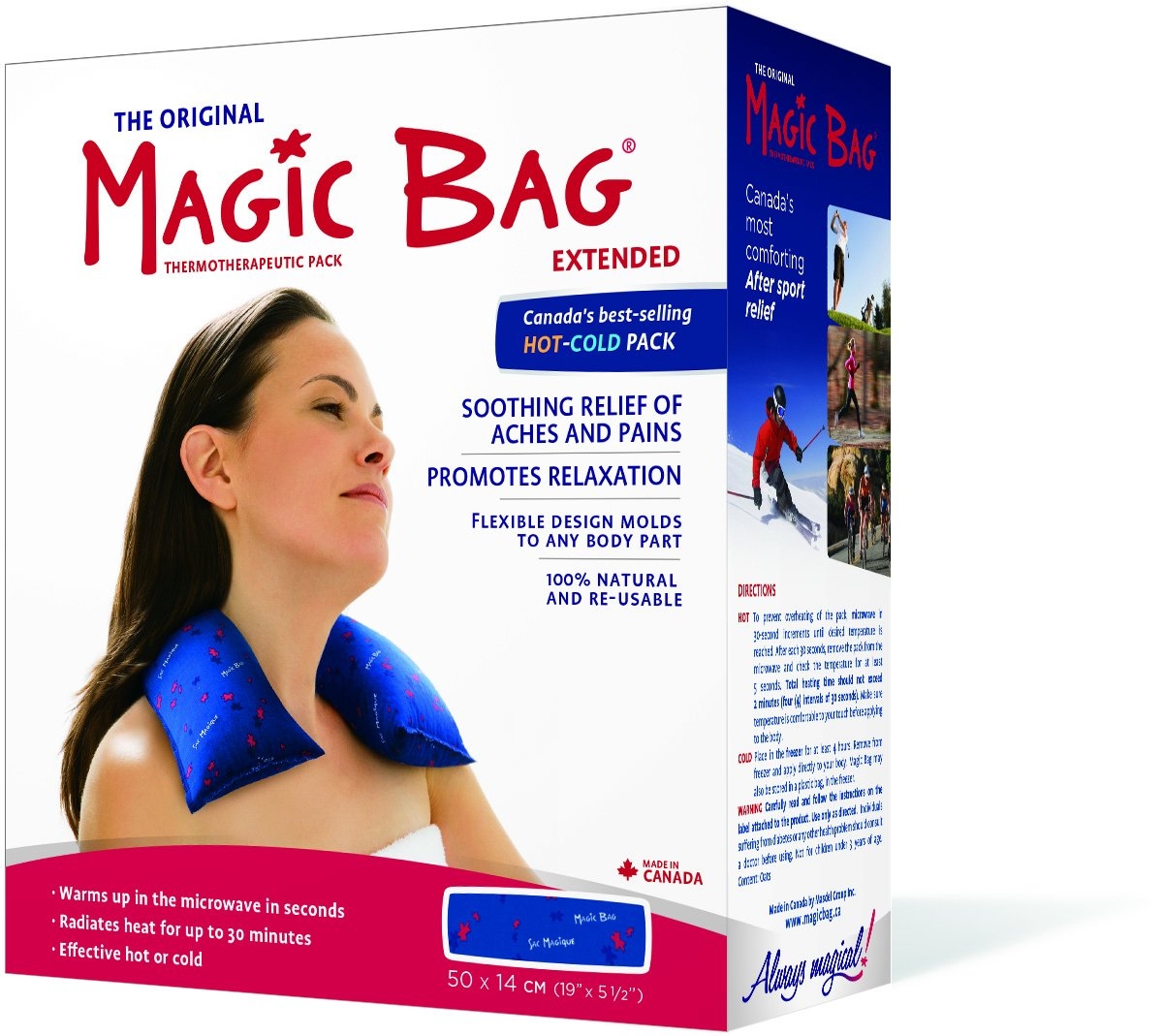 Magic Bag Extended Hot/Cold Pack, 40 Ounce by Magic Bag