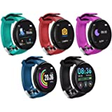 Smart Watch,Fitness Watch for Men Woman Activity Tracker with Heart Rate Blood Monitor IP65 Waterproof Bluetooth Android Smar
