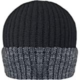 Unisex Mens/Womens Thinsulate Heavy Knit Winter/Ski Thermal Hat (40g) - Thermal Warm Hat