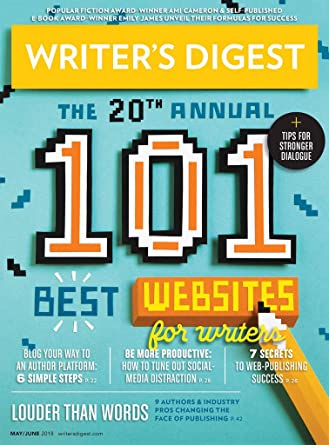 Image result for writer's digest magazine may 2018