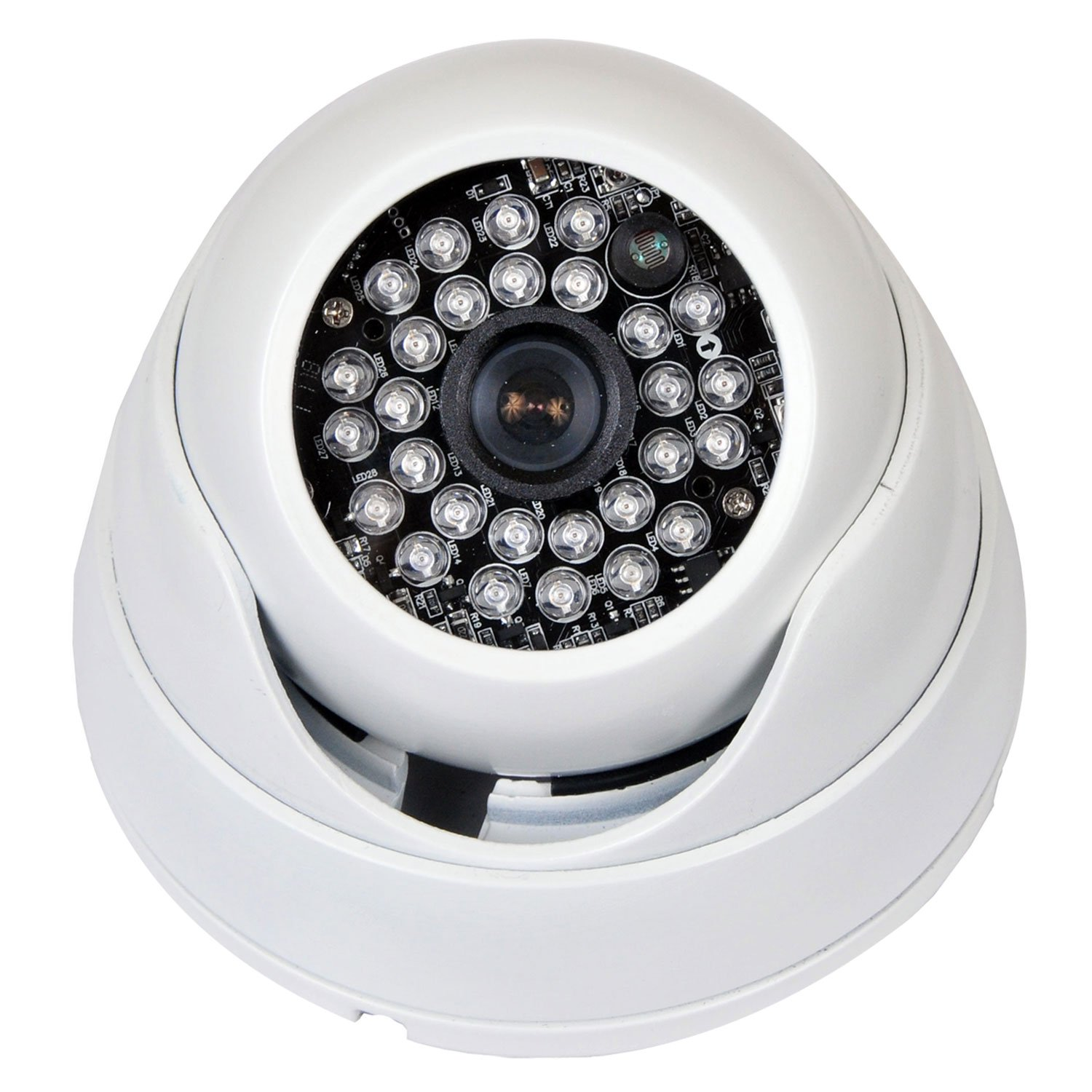VideoSecu Day Night Vision Built-in Sony Effio CCD CCTV Home Video ...
