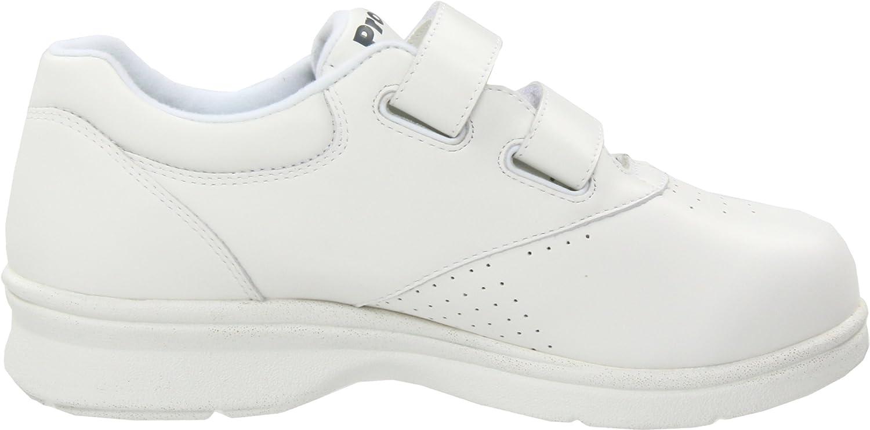 Propet Women's Vista Strap Sneaker B000BO6BRQ 10 XX (US Women's 10 EEEE)|White Smooth