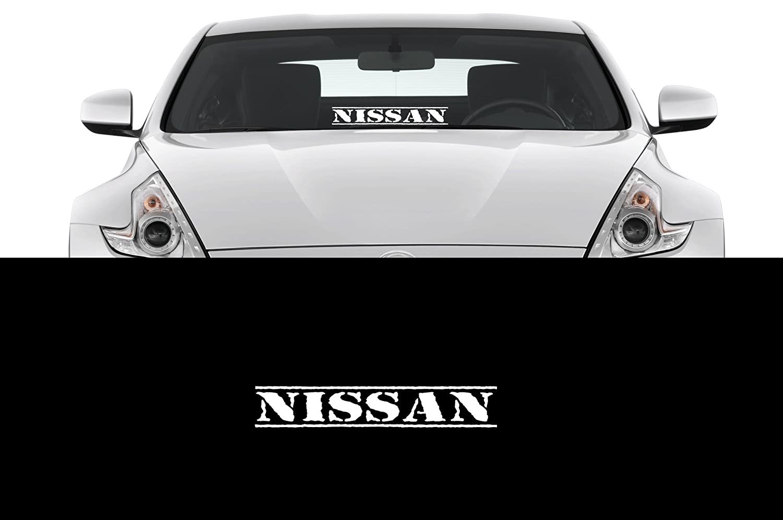 Amazon com nissan sticker 23 windshield jdm nismo lowered car sport decal automotive