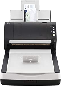 Fujitsu fi-7240 Robust General Office Desktop Color Duplex Document Scanner with Auto Document Feeder (ADF) and Flatbed