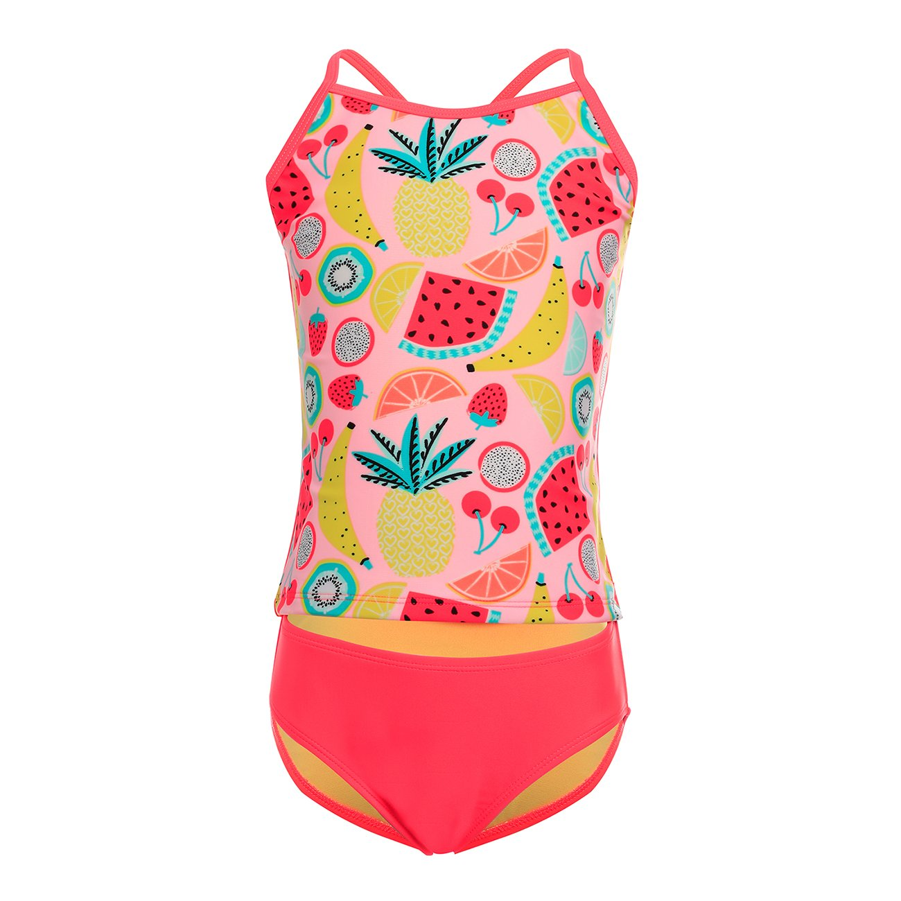 DAYU Girls' Summer Dream Tankini Two Piece Swimsuit