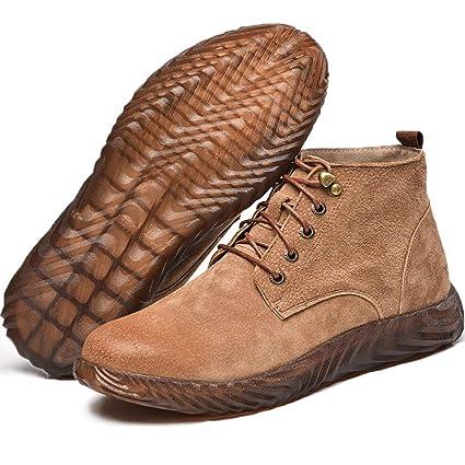 Zapatos de seguridad Calzado alto de algodón ligero de algodón anti- ácaros para hombre, soldador eléctrico, ...
