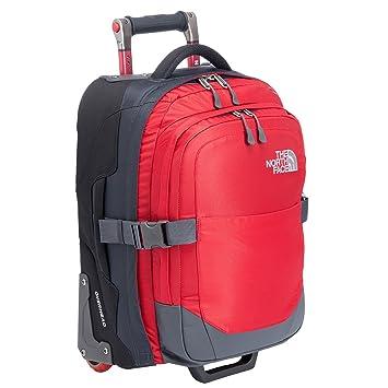 The North Face Mochila/maleta con ruedas Overhead rojo T0AJVWM21: Amazon.es: Equipaje