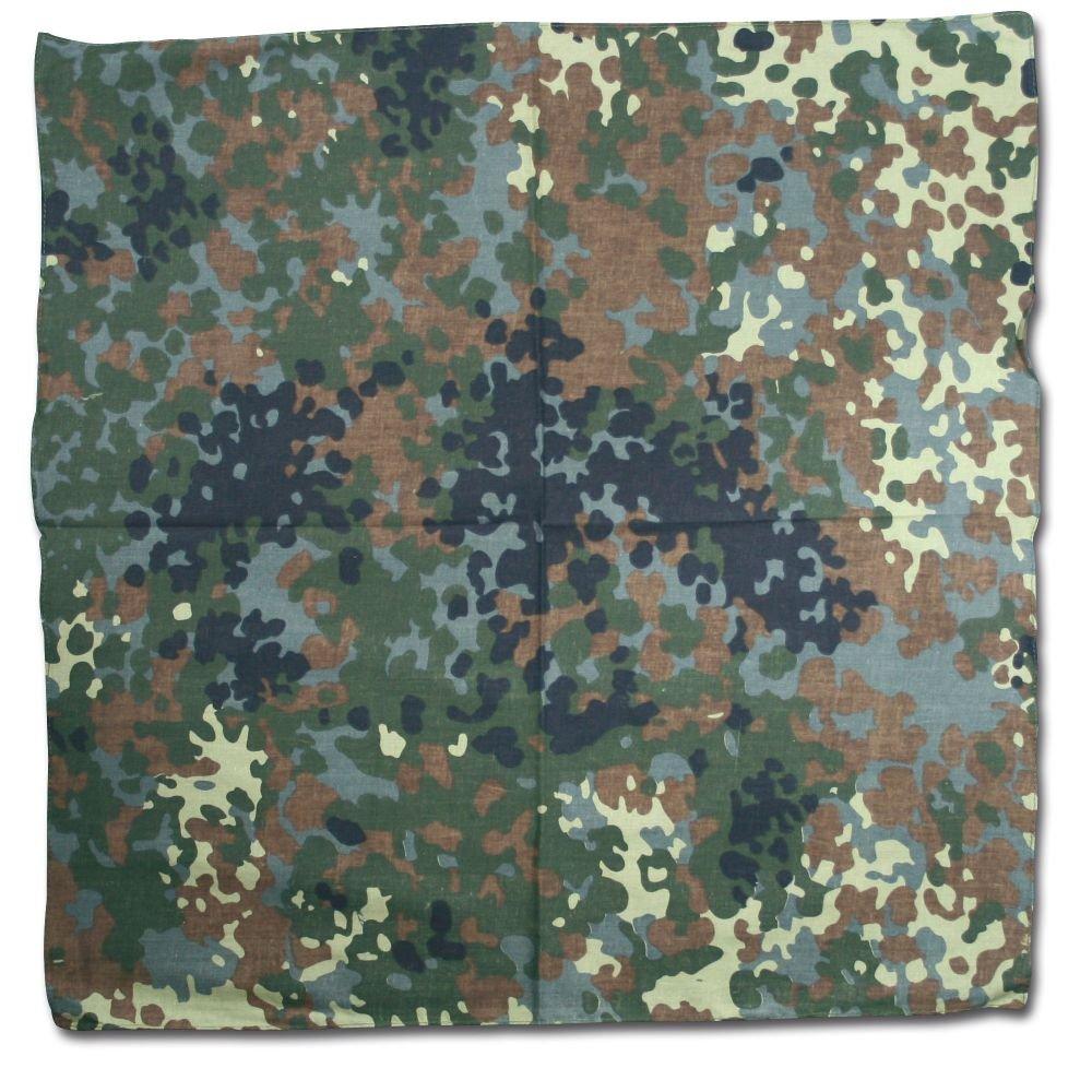 100% Cotton Flecktarn Camouflage Bandana