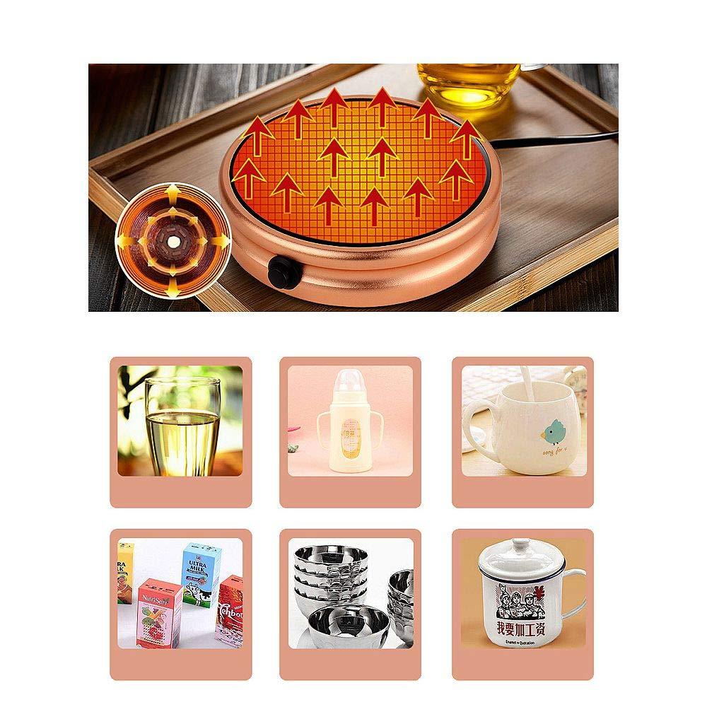 Mug Warmer, Desktop Heated Coffee & Tea - Candle & Wax Warmer by ESCAOR (Image #5)