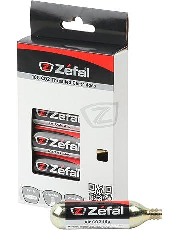 ZEFAL - Cartucho de Co2 (16 G), Color Plateado