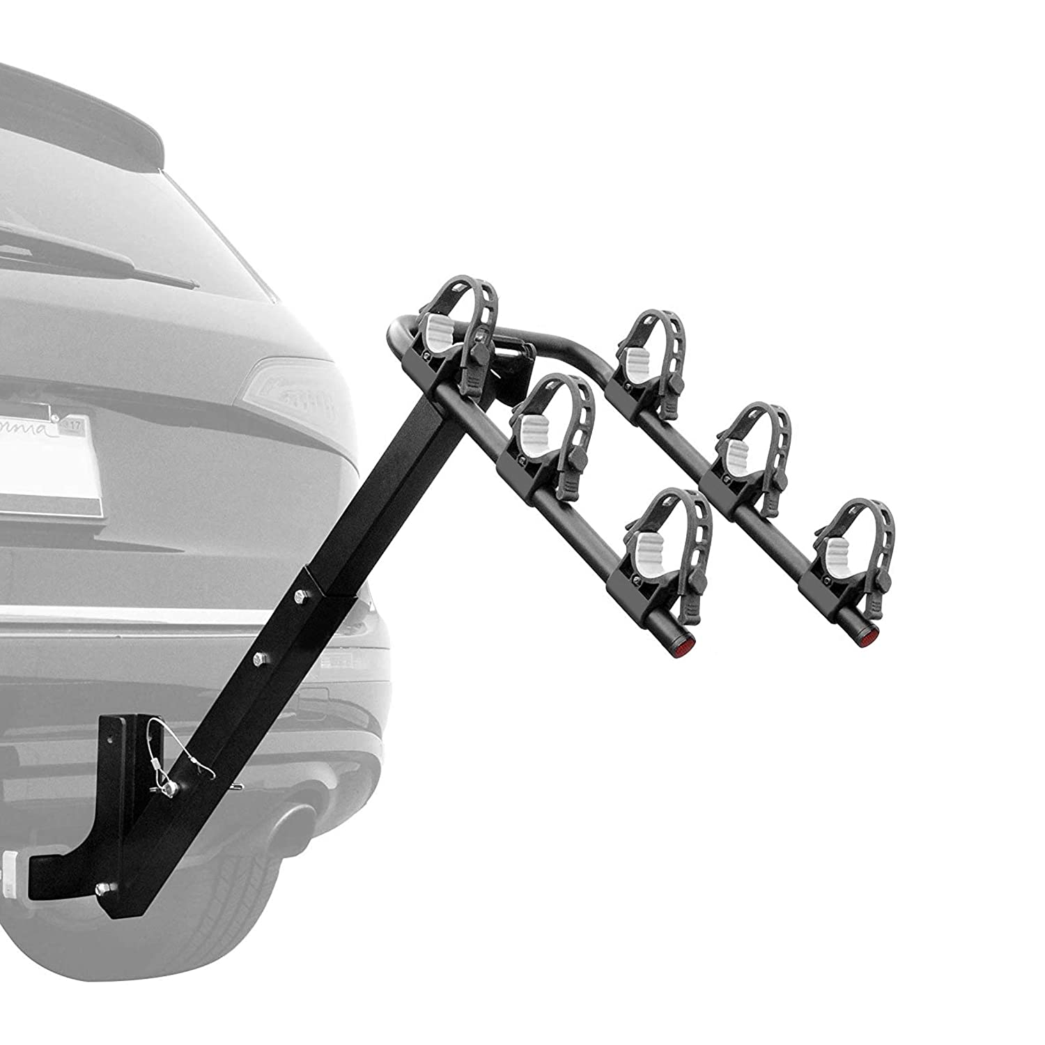 Critical Cycles Lenox 4-Bike Hitch Mount Rack with 2-Inch Receiver Xander Bicycle Corporation 2639