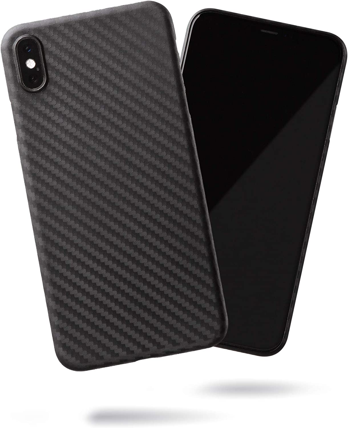 SteepLab Super Slim Minimalist Case - The Ultra Thin Case for iPhone Xs Max (Carbon Fiber)