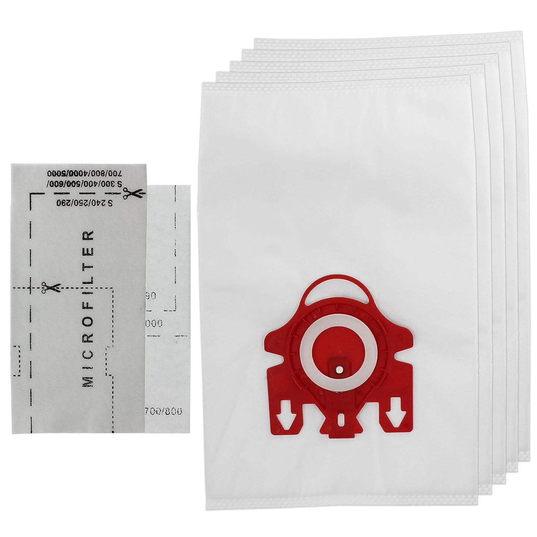 microfiltres /à air Spares2go 3D Type FJM HyClean Sacs pour aspirateur Miele S200//S241//256i//S290//S299/5/sacs