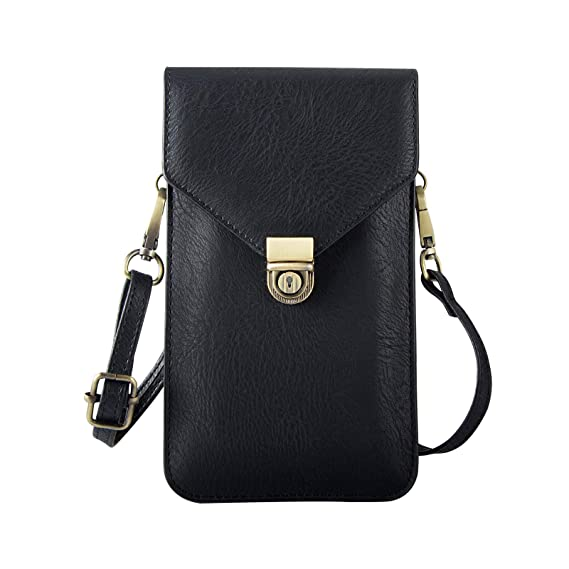 a5fc8e8102 Amazon.com  Universal Crossbody Cell Phone Bag for Woman