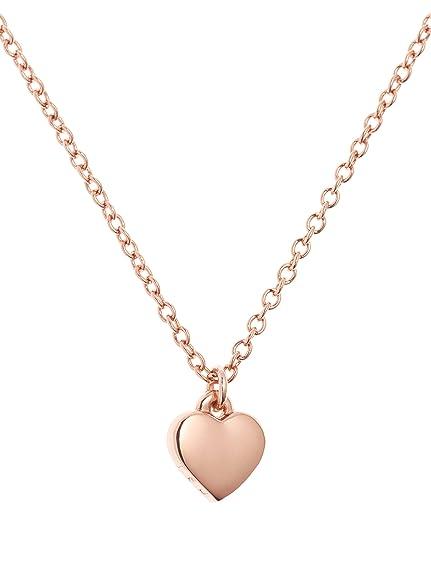 4d3fb3a79bda Ted Baker Hara Tiny Heart Pendant Necklace of 40-42cm TBJ1145-24-03   Amazon.co.uk  Jewellery