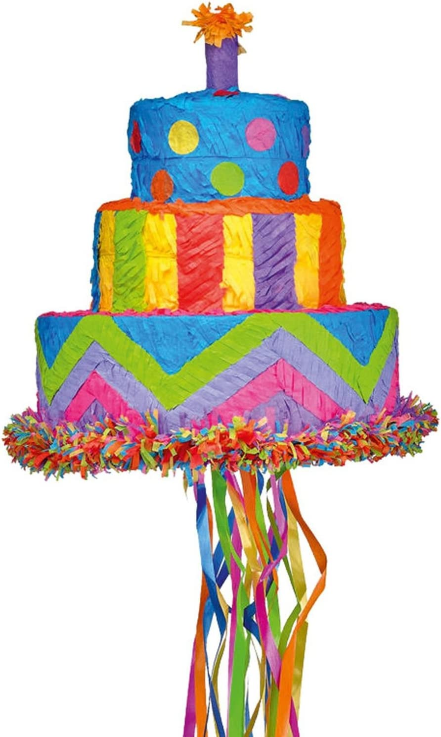Fantastic Amazon Com Amscan P19699 Accessories Pull Pinata Birthday Cake Funny Birthday Cards Online Elaedamsfinfo