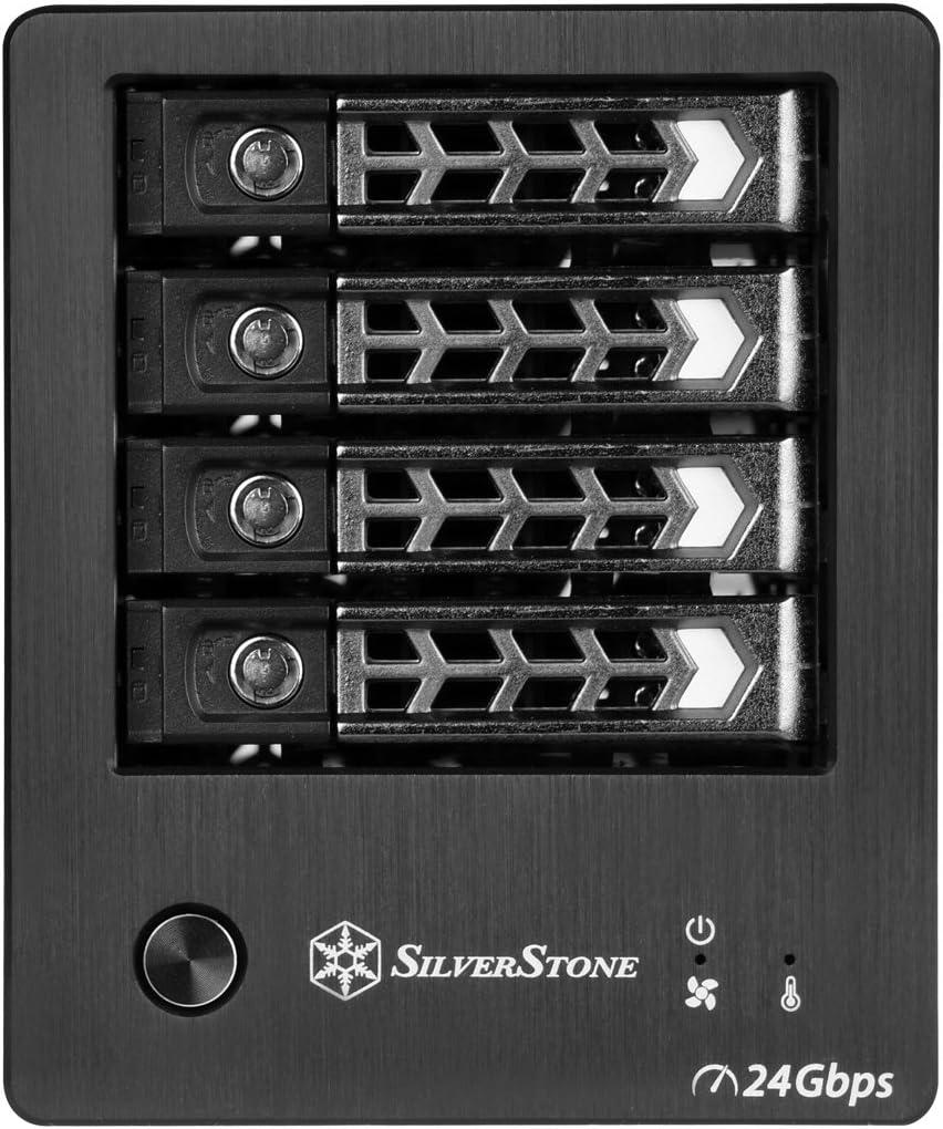 Silverstone Technology Rl Ts421s Sst Ts421s Sas Computer Zubehör